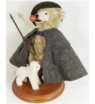 Steiff Shepard Teddy Bear Incense smoking - Limited Edition -Product Number: 037153 Steiff