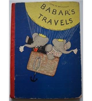Babar\'s Travels - Jean De Brunhoff - 1935