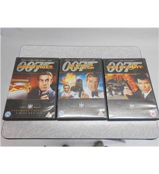 James Bond Ultimate Edition Triple Pack - Goldfinger, The Man With The Golden Gun, Goldeneye 15 DVD