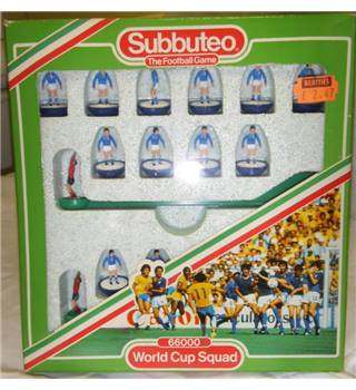 subbuteo 66000 world cup squad italy subbuteo