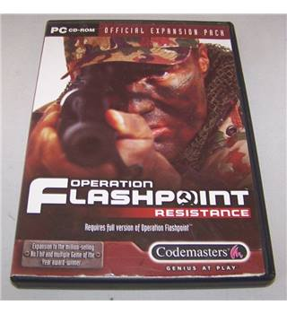 Operation Flashpoint™ Resistance official expansion pack