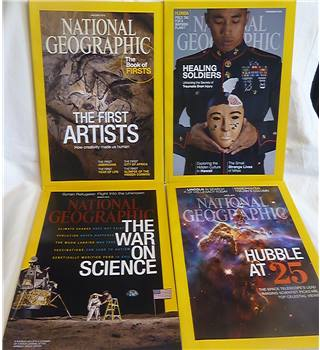 National Geographic: January 2015 - April 2015