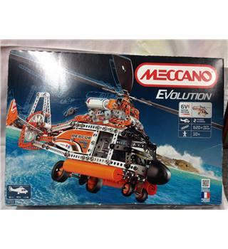 MECCANO Erector *EVOLUTION* Helicopter MOTORIZED Building Model #8210 Meccano REDUCED!!! £119.99
