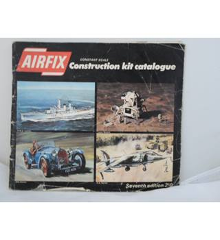 Airfix Construction Kit Catalogue seventh edition Airfix