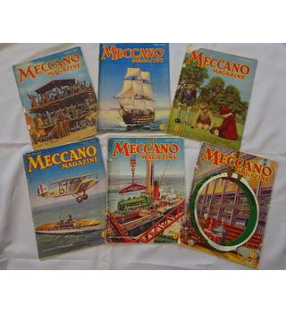Meccano Magazine - 6 issues - 1934 - 1935