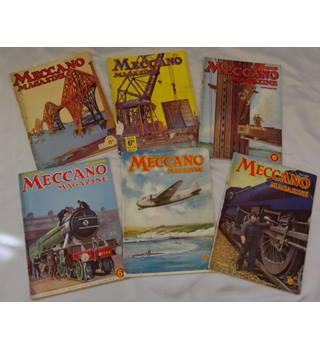 Meccano Magazine - 6 Issues - 1936 and 1938