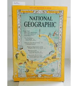 National Geographic Vol 122 No 2 August 1962