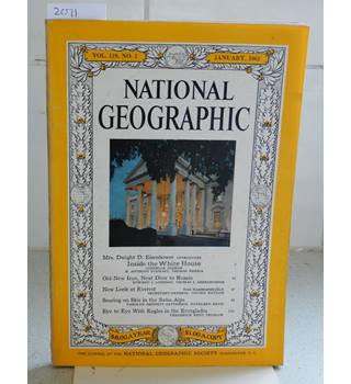 National Geographic Vol 119 No 1 January 1961