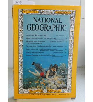 National Geographic Vol 121 No 1 June 1962