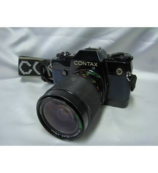 Contax137 MA Quartz with Yashica MC Zoom 28-80mm
