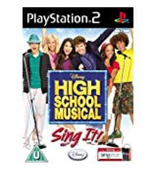 High School Musical Sing It! (PS2)