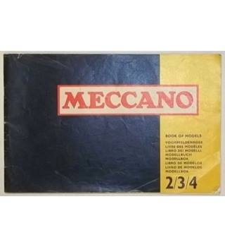 Meccano : Book of Models 2/3/4 [2nd Impression]