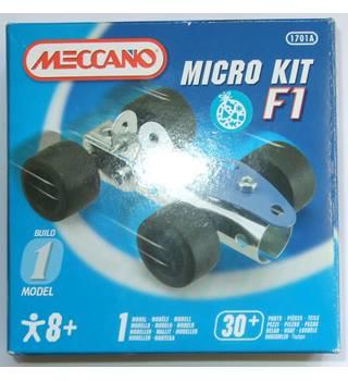 BNIB Meccano Micro Kit F1 1701A Meccano