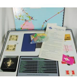 Vintage Mattel - Capital Adventure - 1986 Board Game