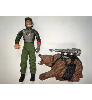 Action Man Mission Grizzly + Bear