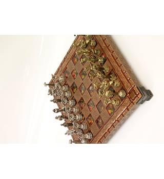 Miniture Greek Chess set