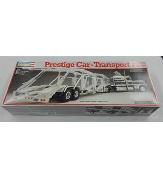 Revell - Prestige Car-Transport Peterbilt & Trailer - Scale Model