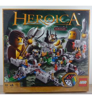 Lego Heroica Castle Fortaan Game 3860 New & Sealed