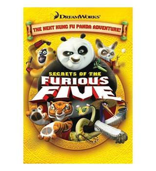 Kung Fu Panda Secrets of the Furious 5 PG
