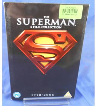 SUPERMAN 5 FILM COLLECTION PG