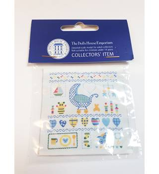Dolls House Emporium- Baby Boy\'s Motif Embroidery- New