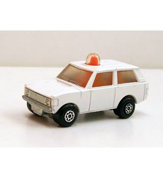Die Cast Range Rover Mk1 Classic with revolving beacon. Matchbox Brand Rolamatics