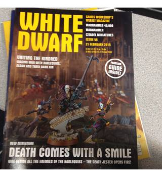White Dwarf games workshop\'s weekly magazine