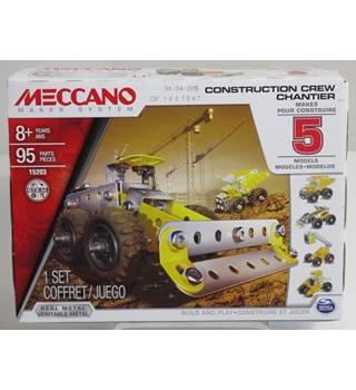 Meccano Construction Crew Model Set 5-Piece