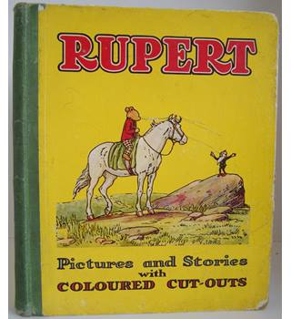 Rupert: Pictures and Stories with Coloured Cut-Outs