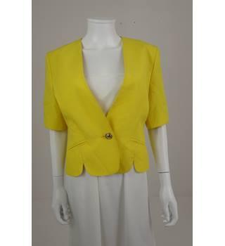 Vintage 1990\'s Jaques Vert Size: 10 Sun Flower Yellow Blazer