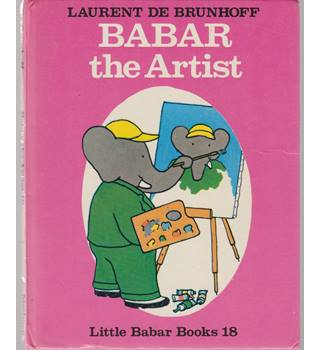 Babar the Artist - first GB edition