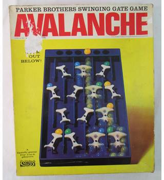 Parker Brothers Avalanche Game