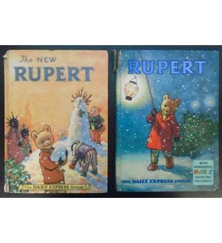 Rupert Annuals [1954, 1960, 1962, 1964]