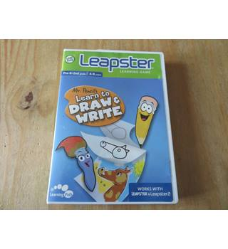 Leapster Mr.Pencil\'s Learn to Draw & Write LeapFrog Leapster 2