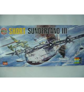 Scale model kit - Short Sunderland III Airfix