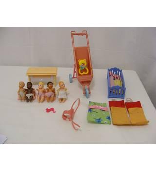 Assorted Plastic Toys - Mattel etc