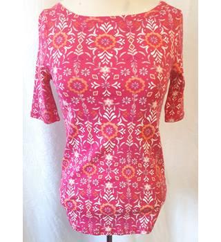 M&S Marks & Spencer BNWOT - Size: 10 - Pink - T-Shirt