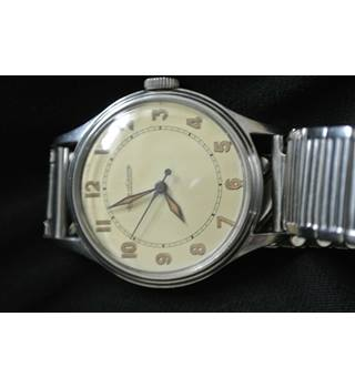 1940/1950s Jaeger LeCoultre Watch Jaeger - Size: Medium - Metallics