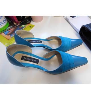 Jaques Vert shoes size EU38 UK 5.5 Petrol Blue colour Jacques Vert - Blue - Heeled shoes