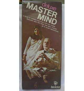 Vintage Deluxe Mastermind and Word Mastermind Games