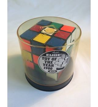 Vintage Rubik\'s Cube by Ideal