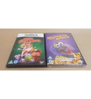 Muppets DVD Set The Great Muppet Caper & Muppets From Space U DVD