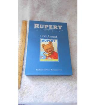 Rupert 1959 Annual. Limited Edition Reproduction