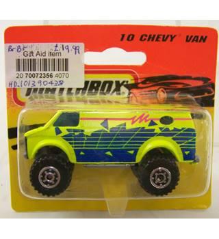 Matchbox 10 Chevy Van Matchbox