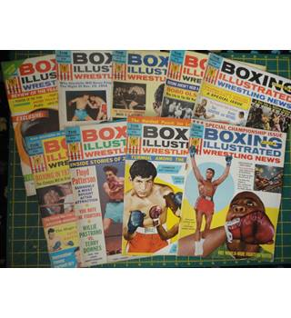 BOXING ILLUSTRATED WRESTLING NEWS