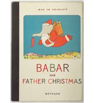 Babar and Father Christmas [1959 Fifth Edition Reprint]