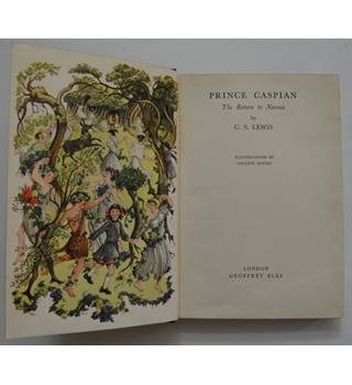 Prince Caspian - The Return to Narnia - C.S. Lewis - 1st Edition