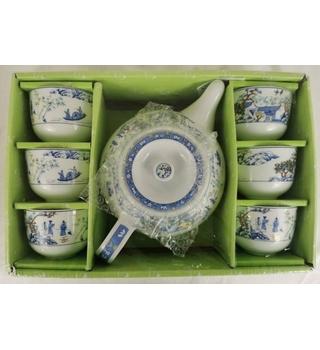 Chinese Tea Set, 8 pcs