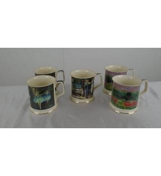 Fine Bone China Mugs by Queens