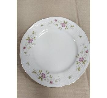 Bernadotte Flower Pattern Decorative Plate